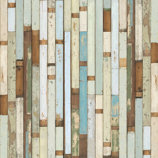 Scrap Wood Wall Paper 03 by Piet Hein Eek