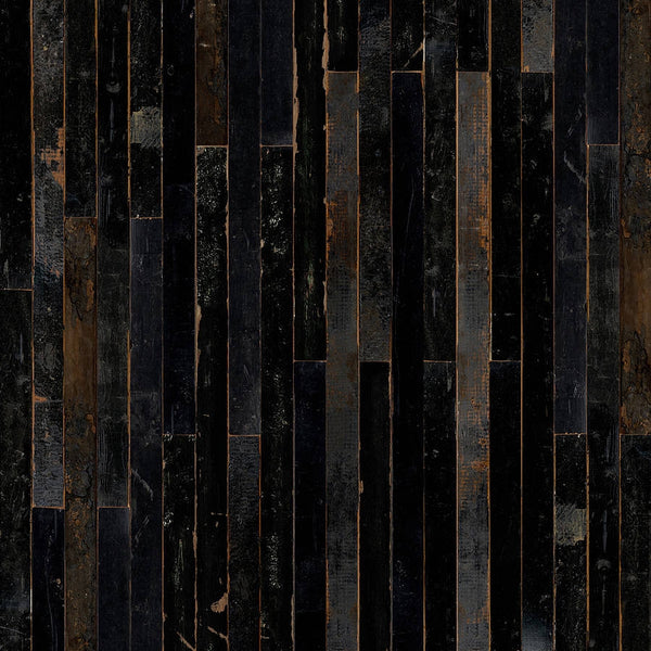 Scrap Wood Wall Paper 06 by Piet Hein Eek