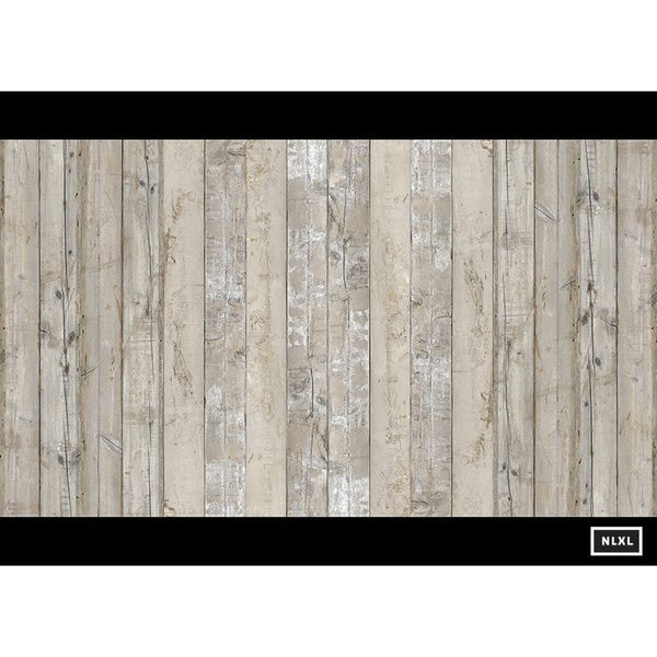 Scrap Wood Wall Paper 07 by Piet Hein Eek