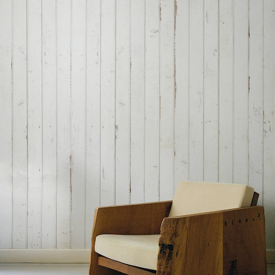 Scrap Wood Wall Paper 08 by Piet Hein Eek