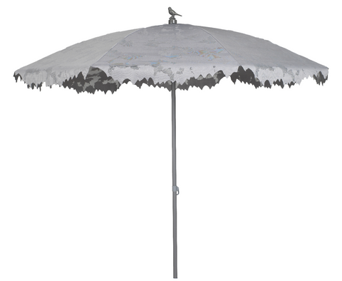 White Shadylace Garden Parasol from White Punch
