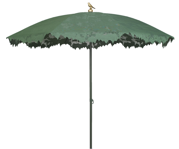Green Shadylace Garden Parasol
