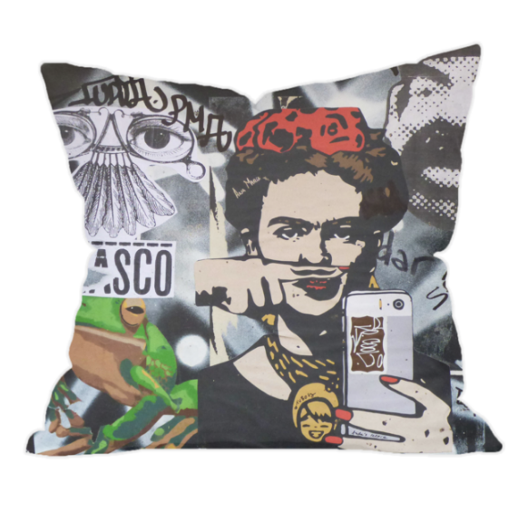 Frida Kahlo Throw Cushion