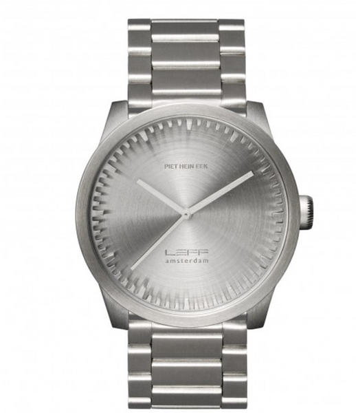 Leff Tube Watch Silver