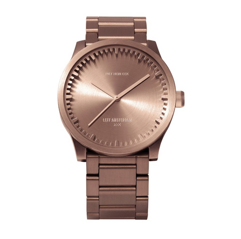 NEW! Tube watch S38 – Rose Gold