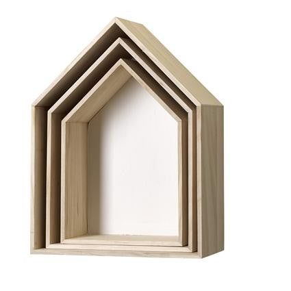 House box shelves from Bloomingville at White Punch UK
