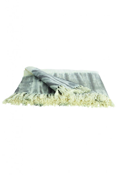 Soft tie dye throw from White Punch