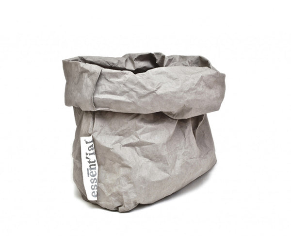Grey Washable Paper Storage Bags