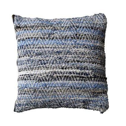 Woven Denim Cushion from White Punch UK