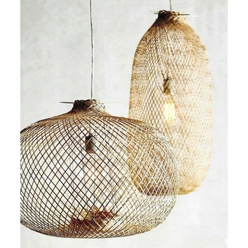 Bamboo pendant light from Bloomingville at White Punch UK