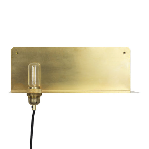 Frama Copenhagen 90° brass wall light from White Punch