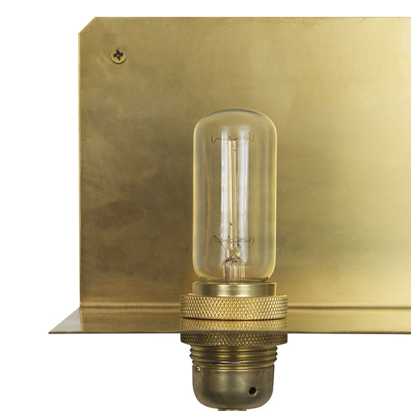 Frama Copenhagen 90° brass wall light from White Punch UK
