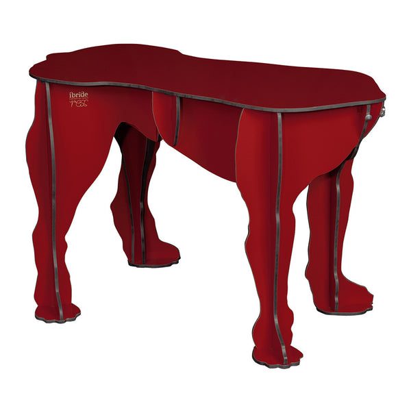 ibride Big Dog Stool Rex Red White Punch UK