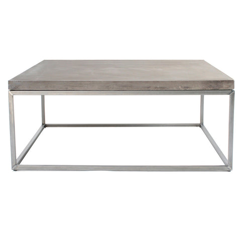 Lyon Beton PERSPECTIVE Coffee Table from White Punch