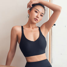 New Yoga Suit Vest Cross Back Bra Women Running Fitness Quick Dry Sports Underwear Manufacturers Direct Sales