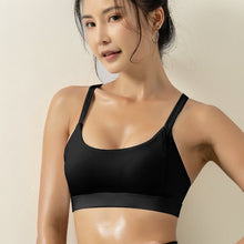 New Sports Lingerie Women Running Yoga Vest Shock-proof Gathered Stereotyped Fitness Bra Beauty Bra Crop Tops