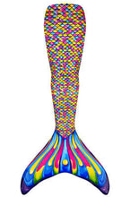 New Fashion Swim Mermaid Tail Wear Adults Children Diving Wear Parent-Child Swimwear Single Mermaid Tail without Monofin
