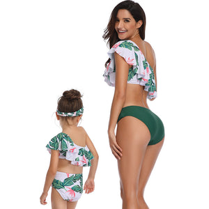 2020 New Parent-Child Swimsuits Popular Mother Daughter Fashion Swimsuits