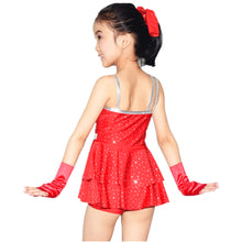 MiDee Flamenco Dancewear Jazz Dance Competition Dress Modern Dance Costumes Children