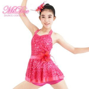 MiDee Sequin Vest Dance Costumes For Tap Dress Hip Hop Dance Clothing