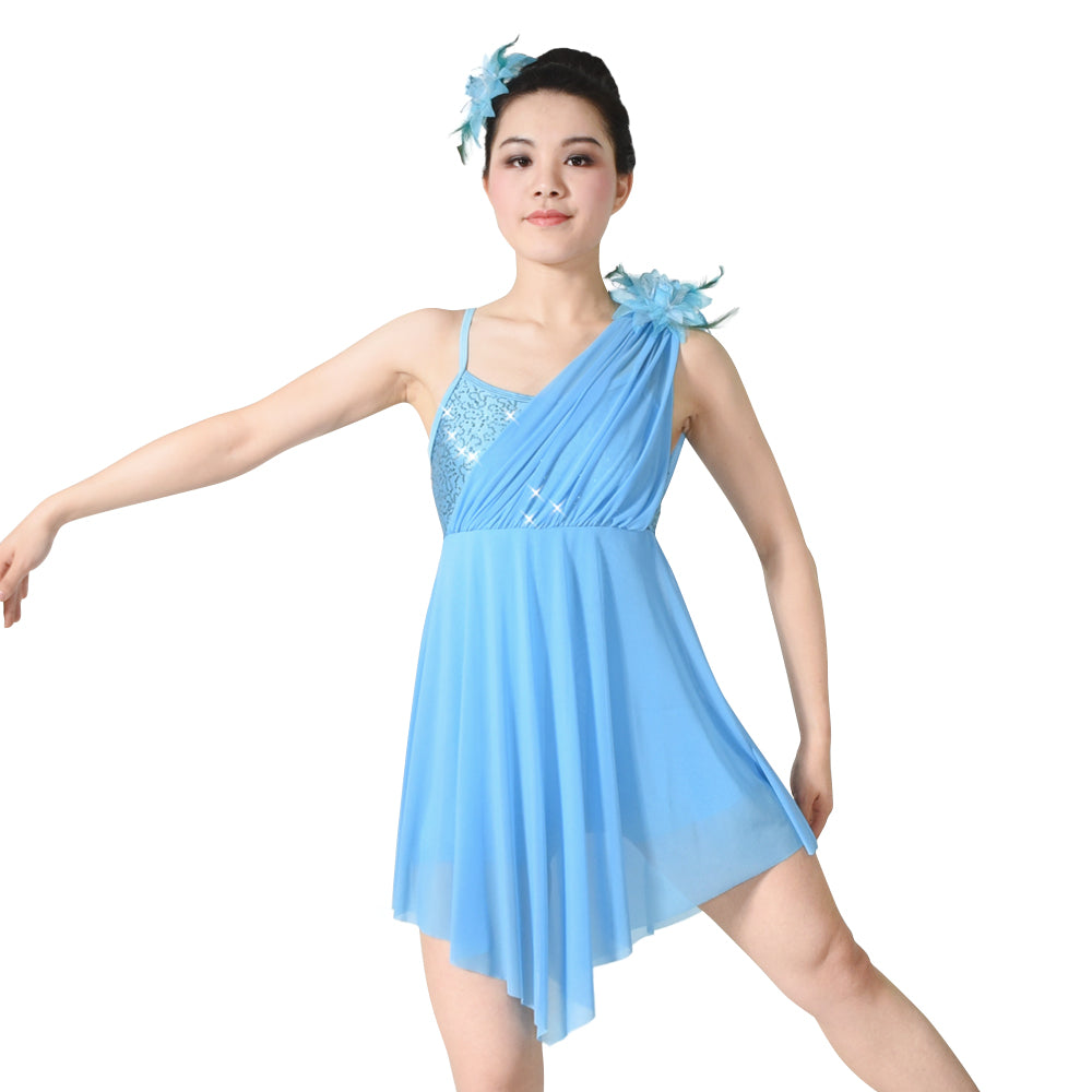 4fe3eb4ffdcf ... MiDee Lyrical Dance Costumes Ballerina Contemporary Dance Costumes