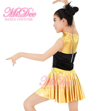 MiDee Tap Hip Hop Dance Clothing Kids Jazz Dance Costumes Latin Ballroom Dress
