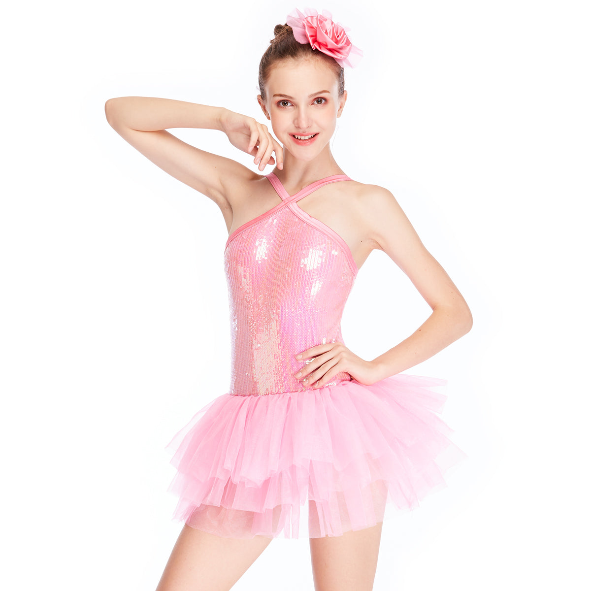 893f1bd70abc ... MiDee Performance Dance Dress Lyrical Ballet Dancing Dress Children Stage  Dance Costume ...