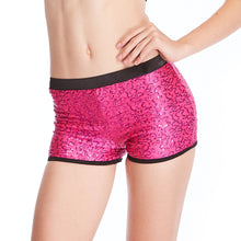 MiDee Gym Sequins Shorts Dance Wear Jazz Costumes Performance Clothes