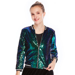 Sequins Hip Hop Stage Performance Dance Costume Rockabilly For Overcast