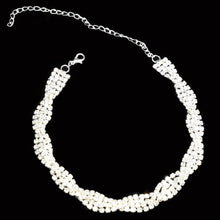 Double Rows Rhinestone Clown Chain Spiral Choker Sparkle Necklace Dance Accessory Circle Neck Wear Decoration CCK039