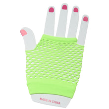 Fishnet Fingerless Gloves Handwear Accessories Wrist Length