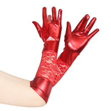 Lace/Foiled Full Fingers Gloves Arm Wear Accessories Arm Length Pull-on CGL038