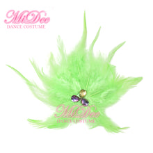 Feather Hair Flower Hair Clip Feather Fancy Headpieces Accessories Eight Colors CHP013
