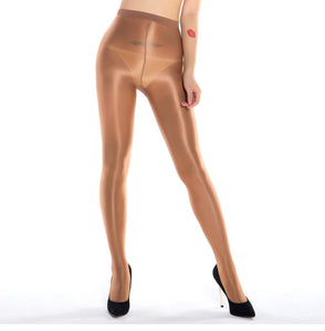 MiDee Dance Tights Foiled Tights Shaping Leg Wear