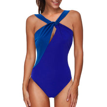 2020 Hot Selling One-Piece Swimming Suit Western Solid Color Swimsuit Sexy Belly Covering Backless Swimming Suit for Women