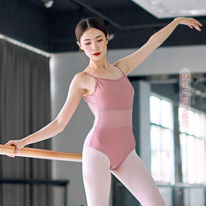 Ballet Dance Practice Wear Adult Female Dancewear Sling High-art Examination Gymnastics Body Suit Aerial Yoga Jumpsuit
