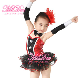 MiDee Classical Ballet Tutu Dance Costumes For Girls Party Performance Dress