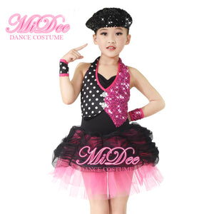 MiDee Ballet Costume Clothes Ballroom Dance Competition Dresses Professional Costumes