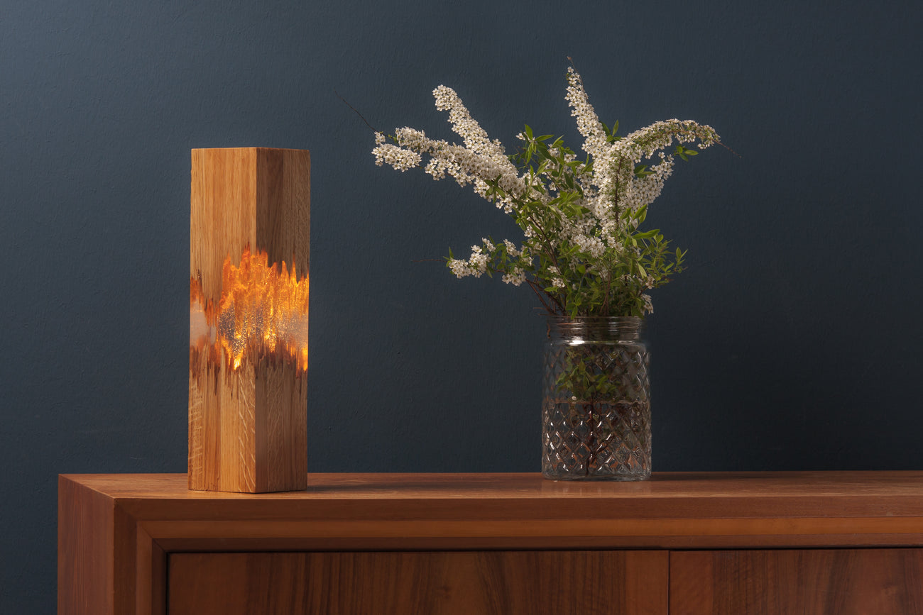 LIGNUM MA - wooden table lamp