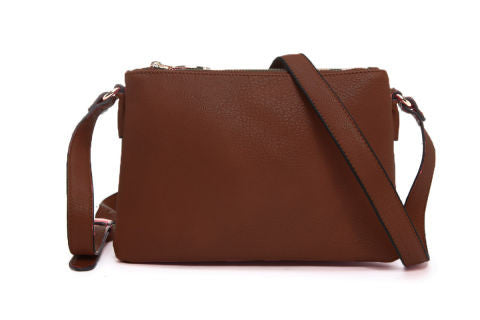 Classic Large 3 Zip shoulder bag