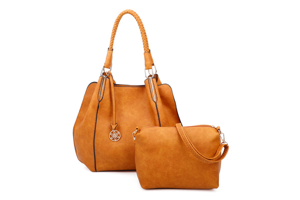 On Trend Shoulder two in one bag