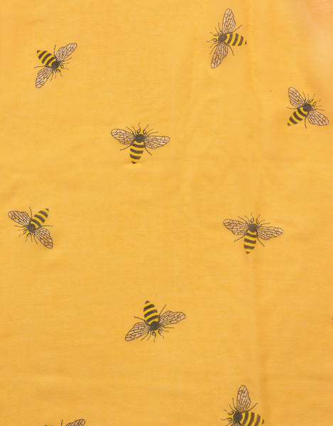 Bee Glitter Detail Scarf