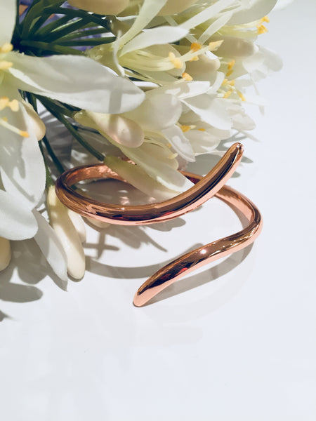 Horn Style Rose Gold  Bangle