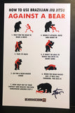 BJJ VS. Bears SIGNED 11x17