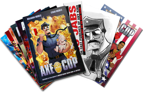 AXE COP Head Chopper Bundle!