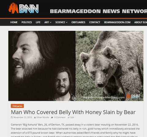 Your Own BNN Bear Obituary
