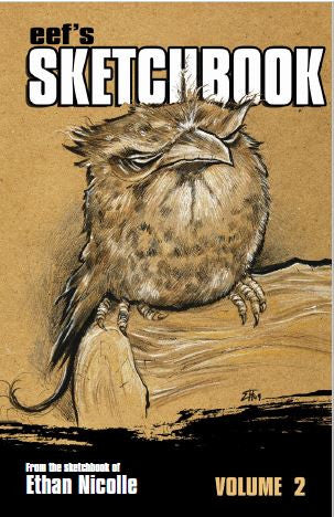 Ethan Nicolle Sketchbook Vol. 2 PDF