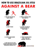 BJJ vs. Bears Sticker