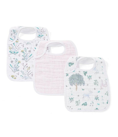 Forest Fantasy Classic 3-Pack Bibs