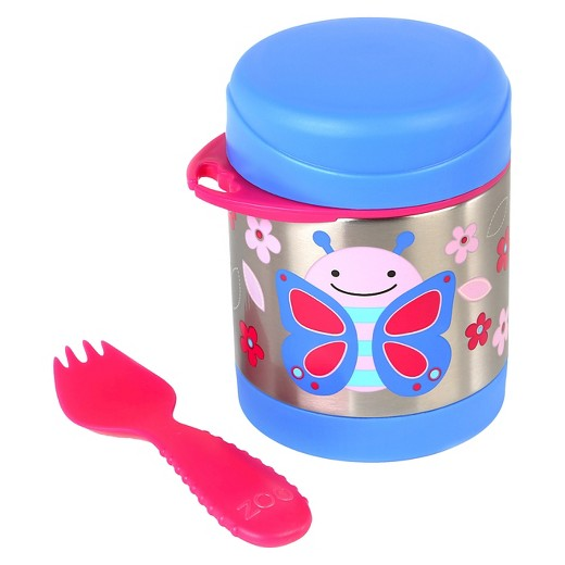 Skip Hop Baby Zoo Little Kid and Toddler Insulated Food Jar- Butterfly